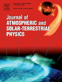 Cover image for Journal of Atmospheric and Solar-Terrestrial Physics
