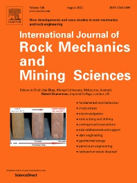 Cover image for International Journal of Rock Mechanics and Mining Sciences