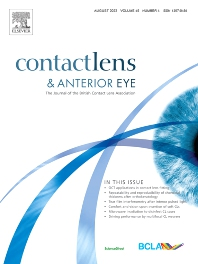 Cover image for Contact Lens & Anterior Eye