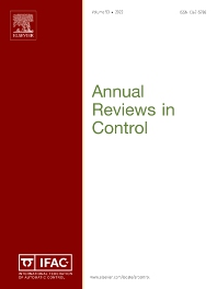 Annual Reviews in Control - ISSN 1367-5788