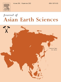 Cover image for Journal of Asian Earth Sciences
