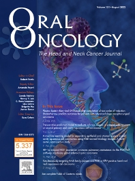 Cover image for Oral Oncology