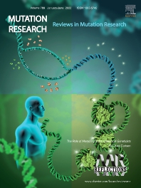 Cover image for Mutation Research: Reviews in Mutation Research