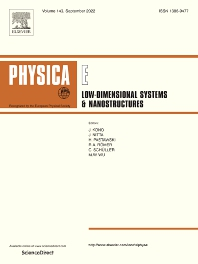 Physica E: Low-Dimensional Systems and Nanostructures - ISSN 1386-9477