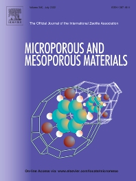 Cover image for Microporous and Mesoporous Materials