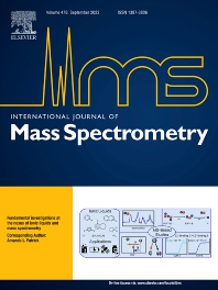 Cover image for International Journal of Mass Spectrometry