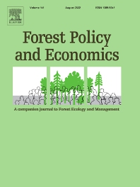 Cover image for Forest Policy and Economics
