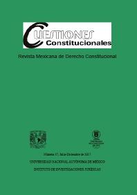 Cover image for Cuestiones Constitucionales