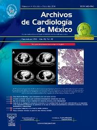 Cover image for Archivos de Cardiología de México