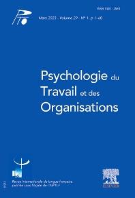 Cover image for Psychologie du Travail et des Organisations