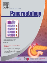 Cover image for Pancreatology
