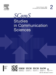 Cover image for Studies in Communication Sciences