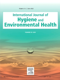 Cover image for International Journal of Hygiene and Environmental Health