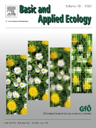 Cover image for Basic and Applied Ecology