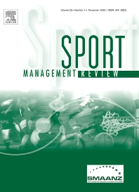 Cover image for Sport Management Review