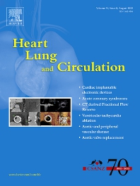 Cover image for Heart, Lung and Circulation