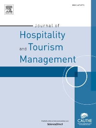Cover image for Journal of Hospitality and Tourism Management