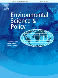 Cover image for Environmental Science & Policy