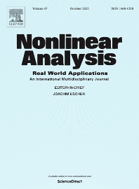 cover of Nonlinear Analysis: Real World Applications