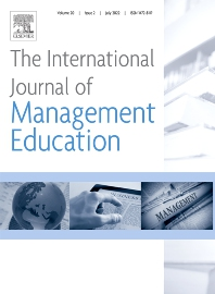 Cover image for The International Journal of Management Education