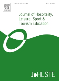Cover image for Journal of Hospitality, Leisure, Sport & Tourism Education