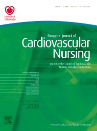 Cover image for European Journal of Cardiovascular Nursing