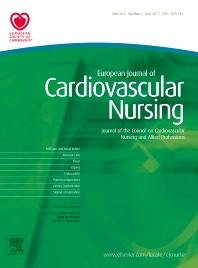 Cover image for European Journal of Cardiovascular Nursing
