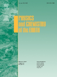 Cover image for Physics and Chemistry of the Earth