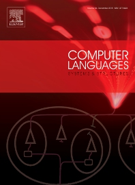 Cover image for Computer Languages, Systems and Structures
