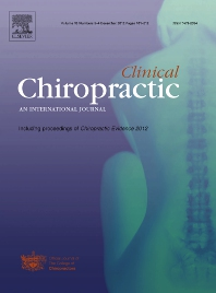 Clinical Chiropractic - ISSN 1479-2354