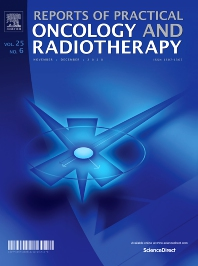 Cover image for Reports of Practical Oncology and Radiotherapy