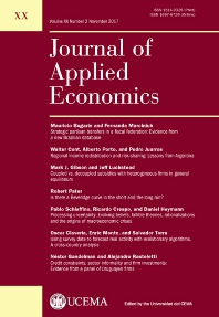 economic papers a journal of applied economics and policy impact factor A journal ranking for the ambitious economist on equal footing as economics journals: ie, jour- impact factor and the institute for scientific.