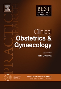 Best Practice & Research Clinical Obstetrics & Gynaecology - ISSN 1521-6934