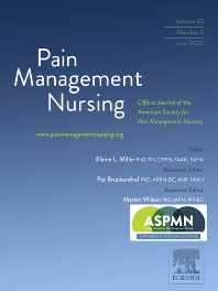 Cover image for Pain Management Nursing