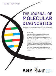 Cover image for The Journal of Molecular Diagnostics