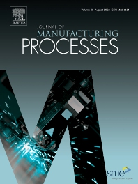 Cover image for Journal of Manufacturing Processes