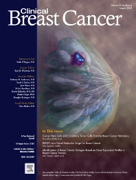 Cover image for Clinical Breast Cancer