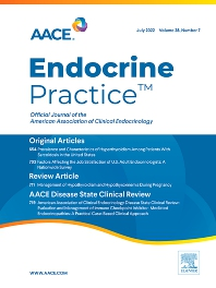 Cover image for Endocrine Practice