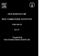 Cover image for Proceedings of the Combustion Institute