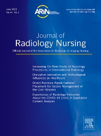 Cover image for Journal of Radiology Nursing