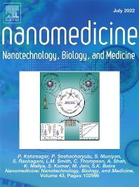 Cover image for Nanomedicine: Nanotechnology, Biology and Medicine