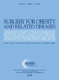 Surgery for Obesity and Related Diseases - ISSN 1550-7289
