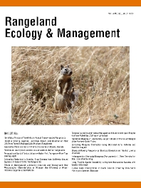 Rangeland Ecology & Management - ISSN 1550-7424