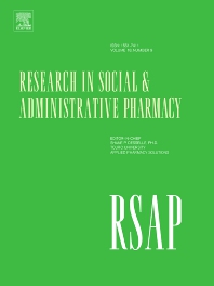 Cover image for Research in Social and Administrative Pharmacy