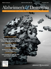 Cover image for Alzheimer's & Dementia