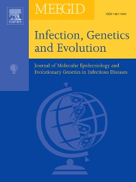 Cover image for Infection, Genetics and Evolution