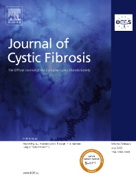 Cover image for Journal of Cystic Fibrosis