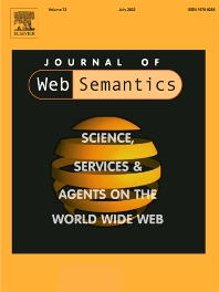 cover of Journal of Web Semantics