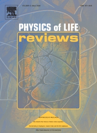 Cover image for Physics of Life Reviews