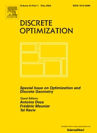 Discrete Optimization - ISSN 1572-5286
